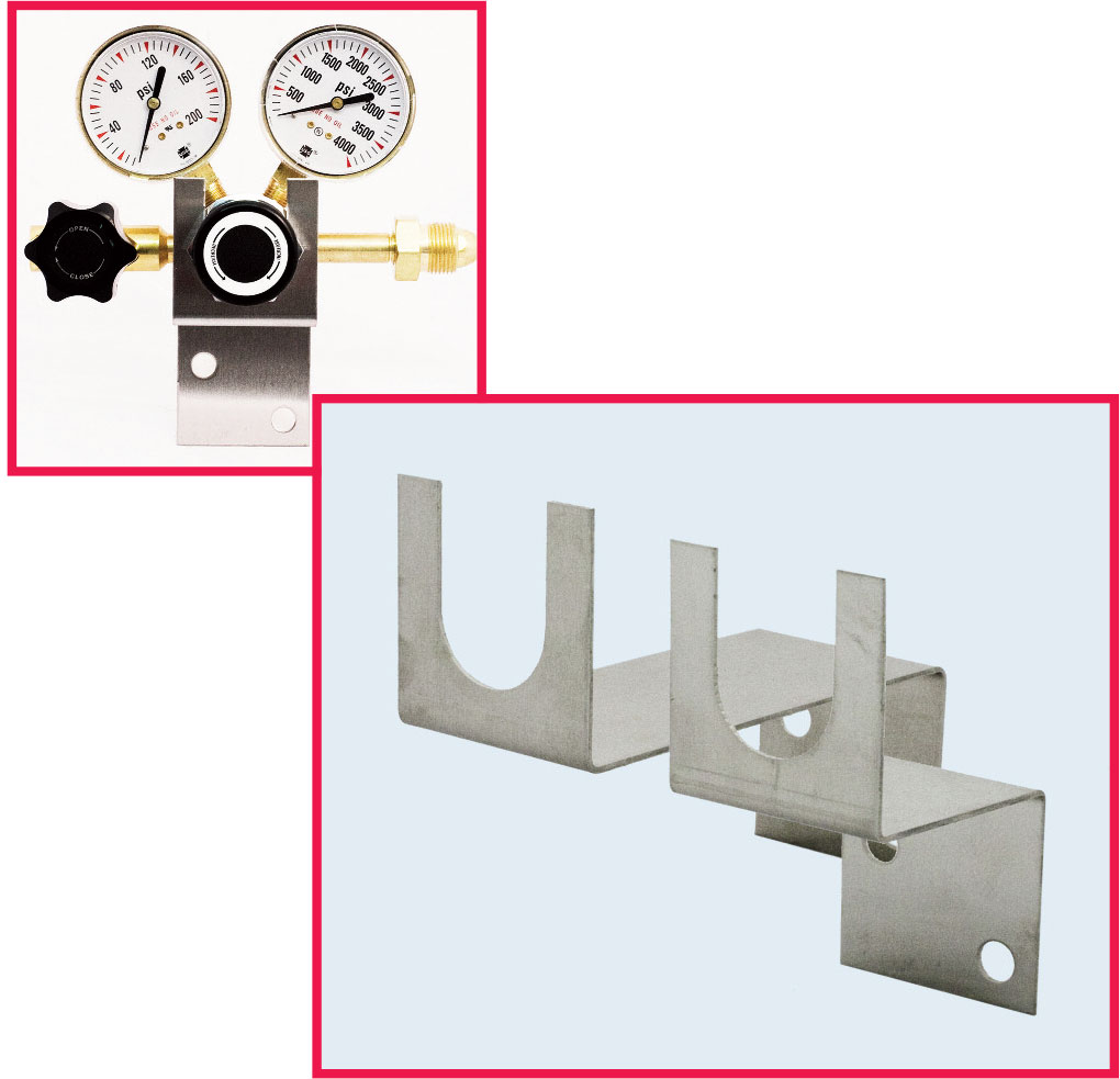 Easy-Mount Regulator Bracket Series EZ3000