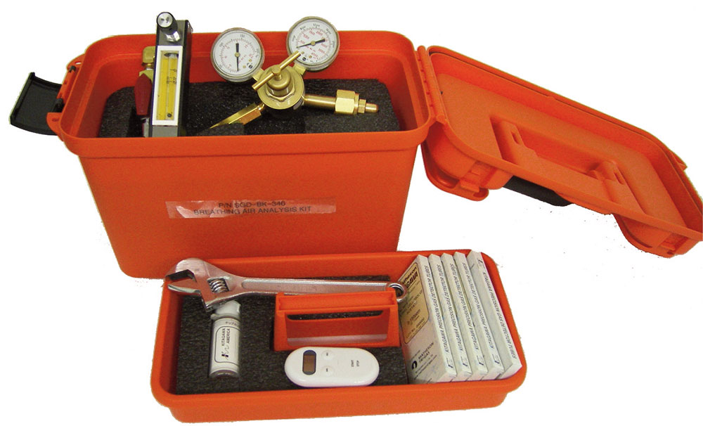SGD-BK-CGA Compressed Breathing Air Sampling Kit