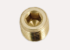 Hollow Hex Pipe Plug
