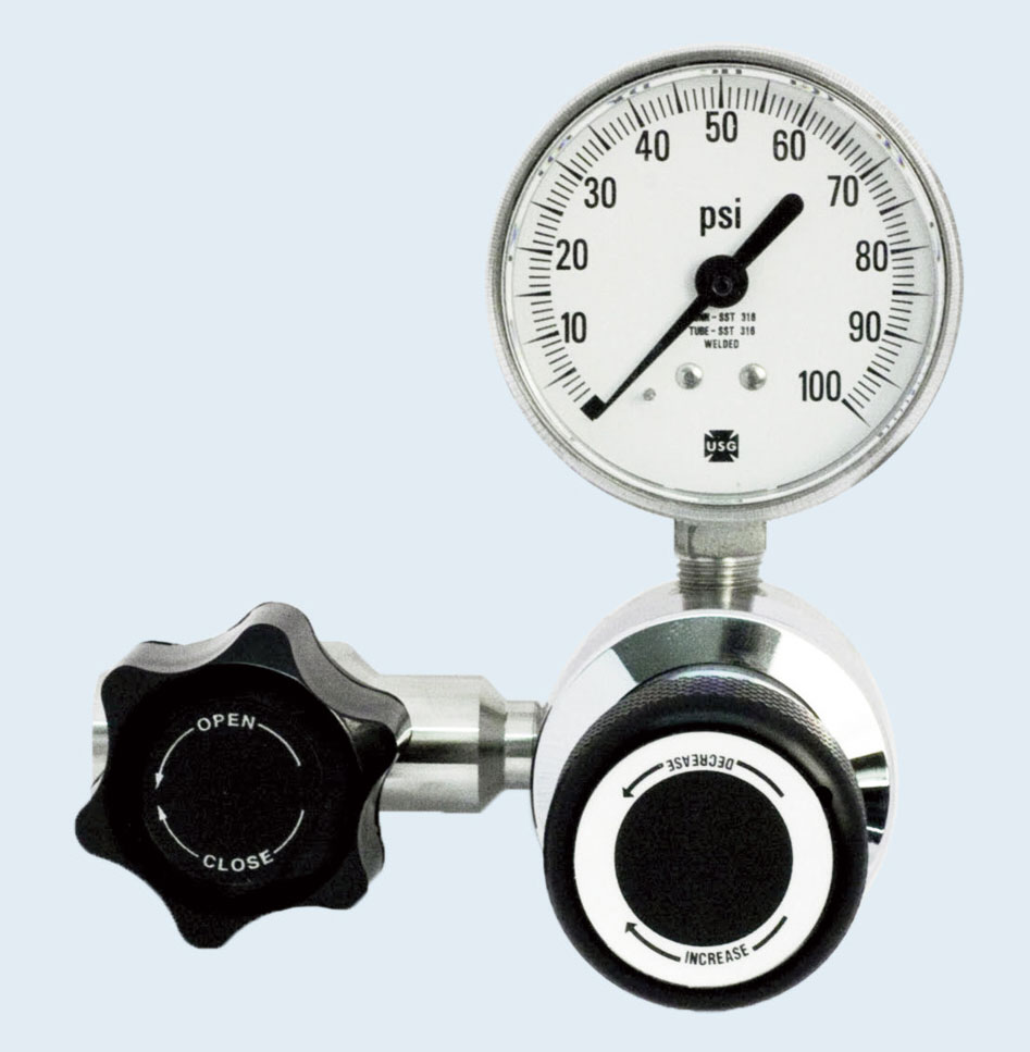 Stainless Steel High Purity Line Regulator Series 3401L