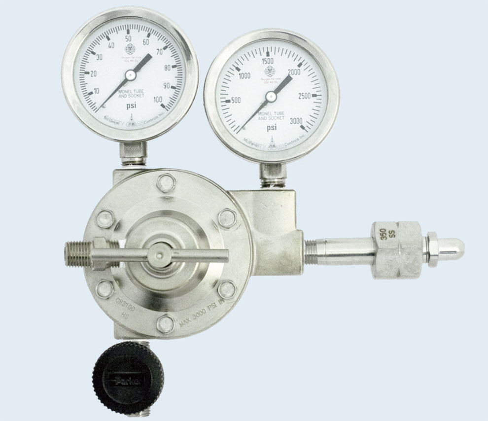 ECONOMICAL CORROSIVE GAS HIGH PURITY LINE REGULATOR Series 3451L