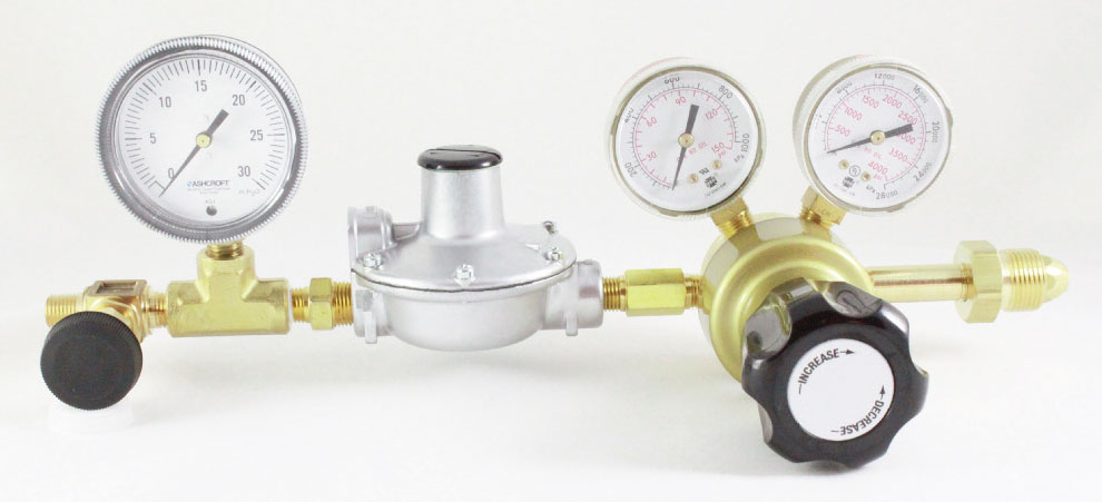 Two-stage General Purpose Regulators for Low Pressure Delivery