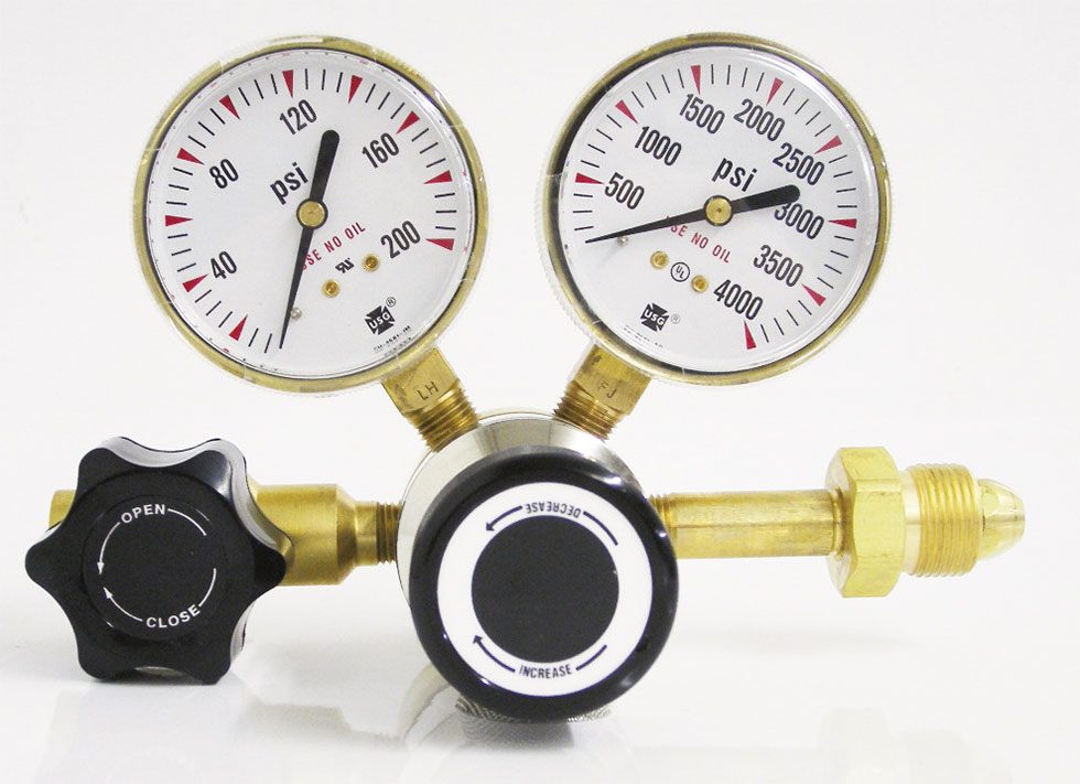 Brass High Purity 1-Stage Regulator Series 3100