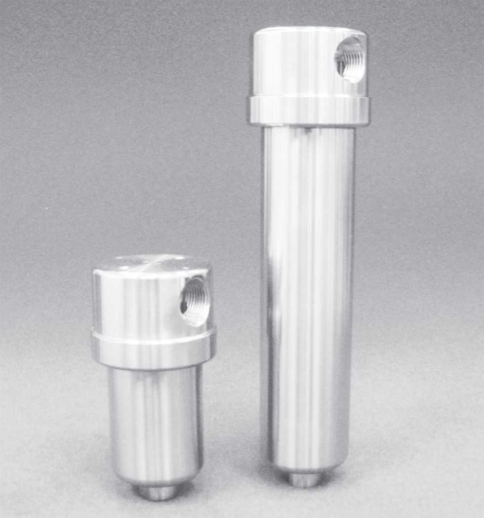 Stainless Steel High Efficiency Coalescing Filter Series 7130 and 7140